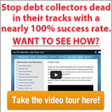 Stop Debt Collectors Dead In Their Tracks