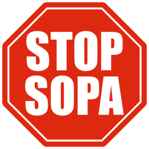 lucha en contra de la ley sopa