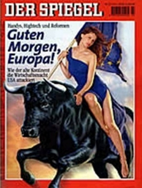 A Woman Rides The Beast Der Spiegel 460x611 Top 12 NWO Symbols   Mass Mind Control