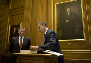Chief Justice John Roberts Bowed To Political Pressure And Changed His Vote On Obamacare