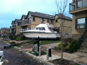 Hurricane Sandy - Staten Island Aftermath - Photo posted by Kimmy Devine