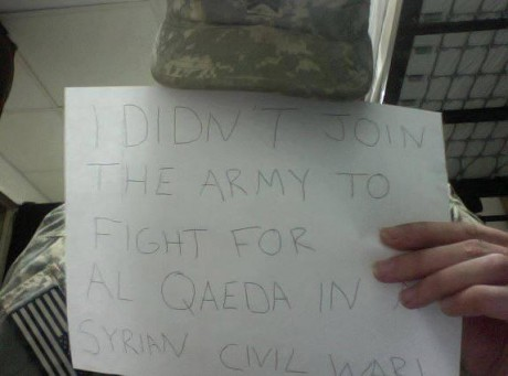 I Didn't Join The Army To Fight For Al Qaeda