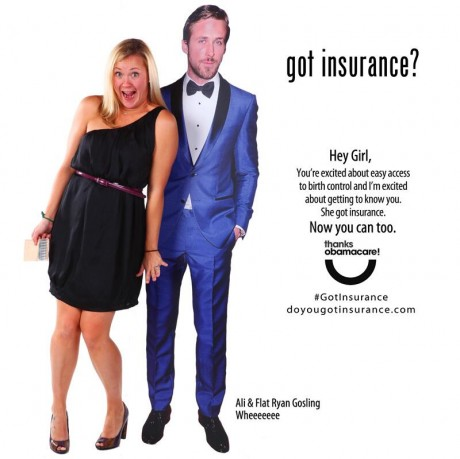 Sexually suggestive obamacare ads