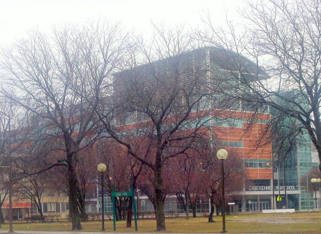 Cass Tech High School - Photo by Mike Russell