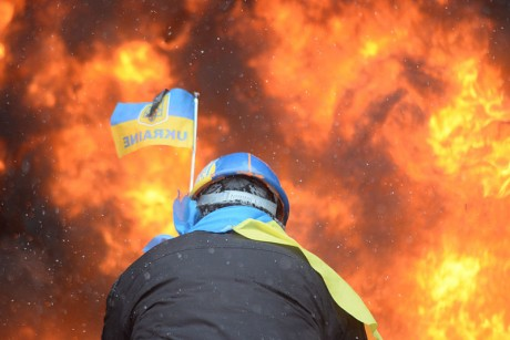 Ukraine Protests - Photo by Mstyslav Chernov