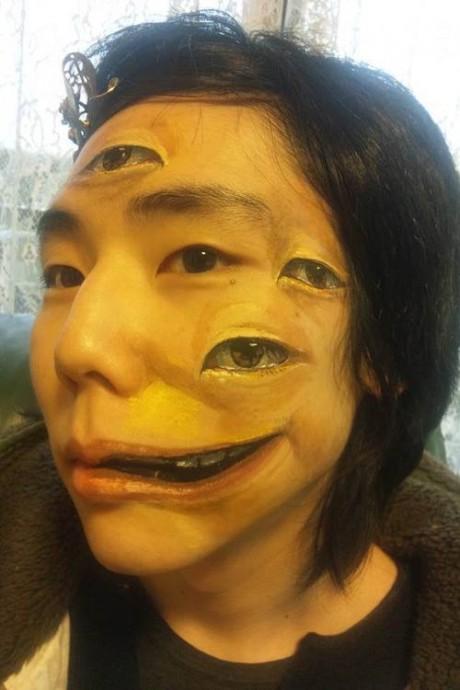 3D Tattoo Face