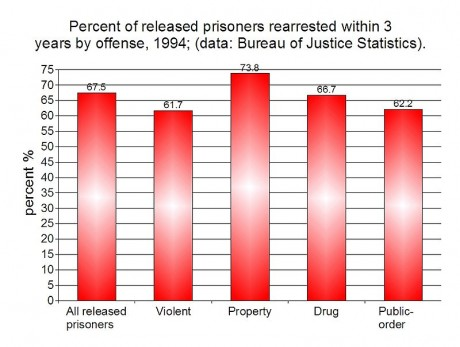 Mass Incarceration: 21 Amazing Facts About America's Obsession With Prison Recidivism in the United States 460x347
