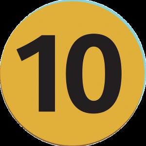 Ten - Public Domain