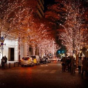 Christmas Street - Public Domain