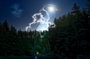 Alien UFO Extraterrestrial - Public Domain