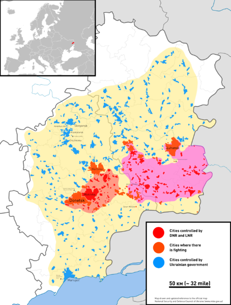 Civil War In Ukraine 2014