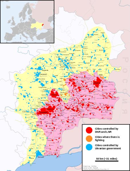Civil War In Ukraine 2015