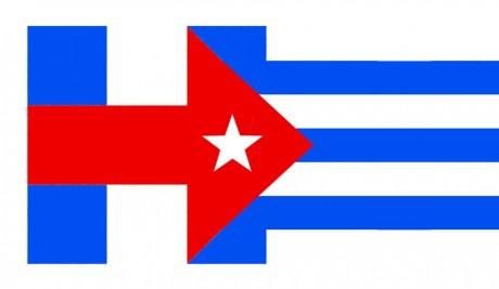Hillary Logo Cuban Flag