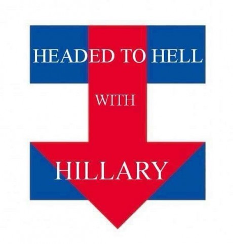 Hillary Logo Headed To Hell