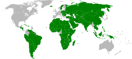 Countries That Officially Recognize A Palestinian State - Photo by Night w