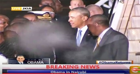 Obama Mystery Demon - Kenya CitizenTV