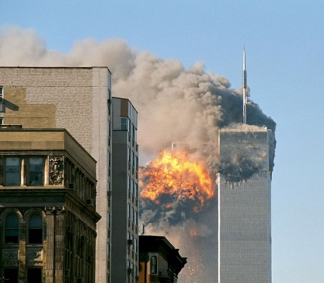 9-11 Flight 175 Hits The World Trade Center