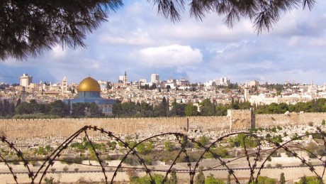Jerusalem Wire Fence - Public Domain