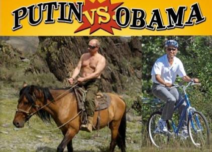 Putin Vs. Obama: Shall We Compare The Two Leaders Or Will That Be Too Embarrassing For America?