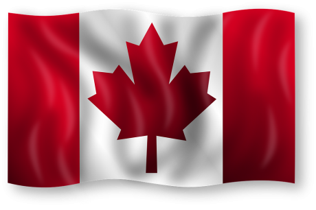Canadian Flag - Public Domain