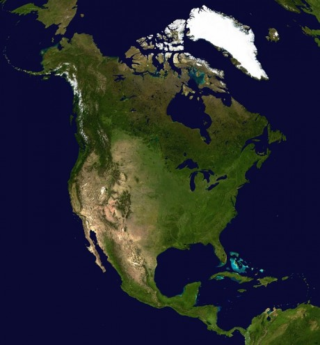 North America - Public Domain
