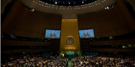 Barack Obama Addresses The UN General Assembly - White House Photo