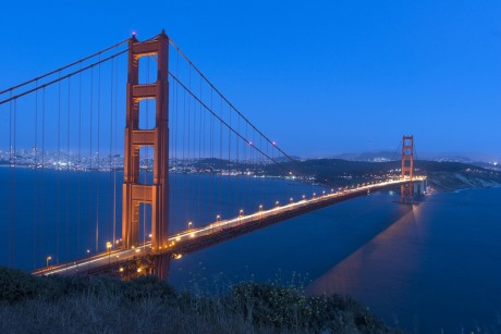 The Golden Gate Bridge - Public Domain
