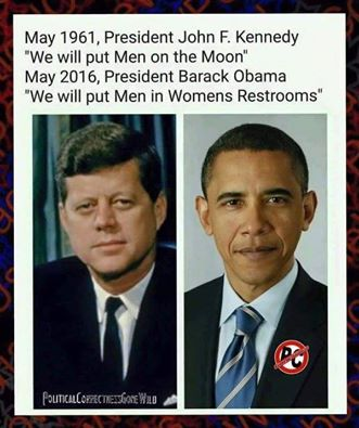 Political Correctness Obama And Kennedy