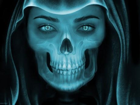Skull Art - Public Domain