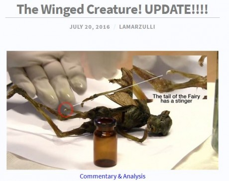 The Winged Creature - L.A. Marzulli