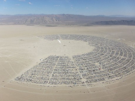 Burning Man - Photo by Kyle Harmon