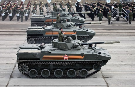 Russian Military Parade - Photo by Vitaly V. Kuzmin