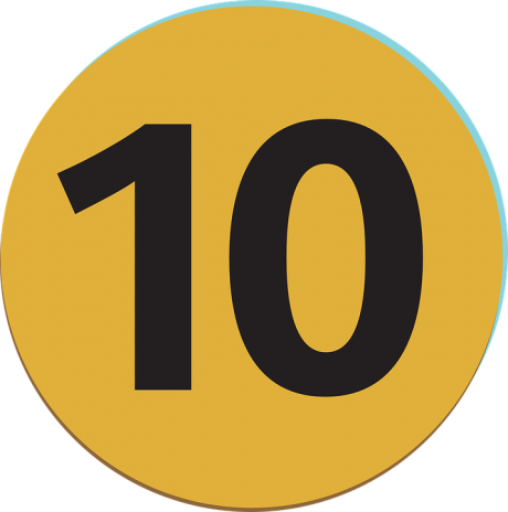 10-number-ten-public-domain