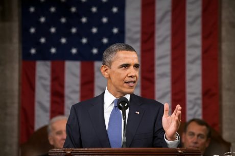 Barack Obama State Of The Union - Public Domain