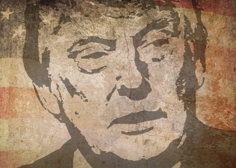 Donald Trump Mural - Public Domain