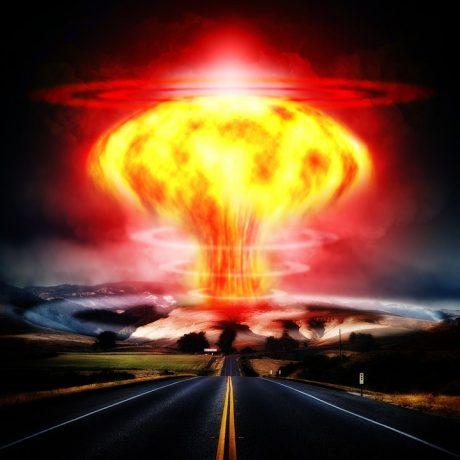 Nuclear War Explosion - Public Domain