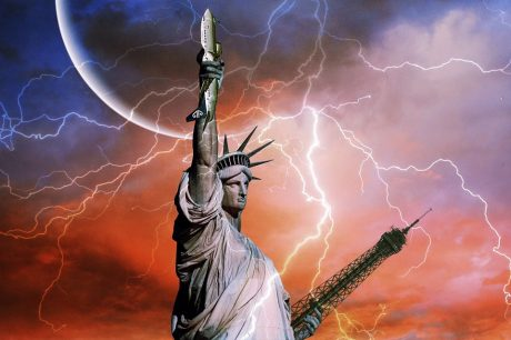 Statue Of Liberty Apocalyptic - Public Domain
