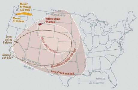 Yellowstone Volcano Eruption