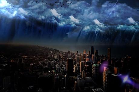 City Skyline - Public Domain
