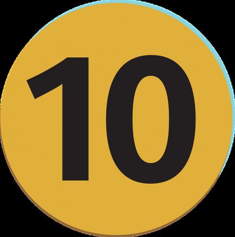 10-number-ten-public-domain